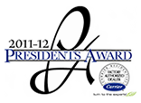 Carrier 2011-2012 Presidents Award