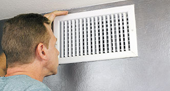 House ventilation duct