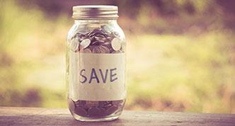 Money jar savings