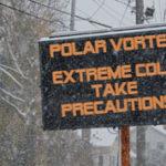 Polar vortex sign