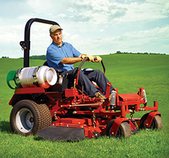 Autogas for Commercial Lawnmowers